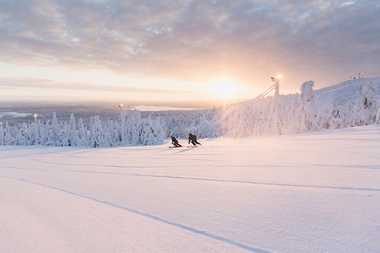 cropattu skier in sunset ruka ski resort.jpg